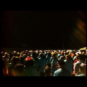 Walking through the night