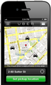 Uber on Mobile